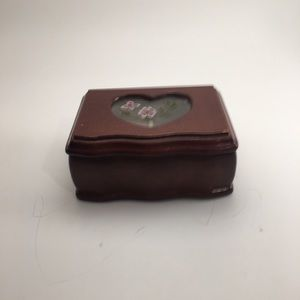 Chinese Small Wooden Jewelry Box!